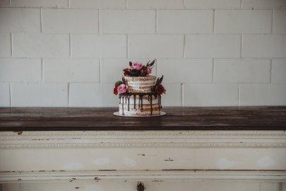 Cake by Flattycakes Photo by Amber Koelling Photography